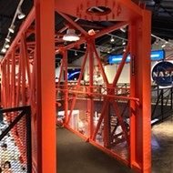 The world's largest space-themed gift shop is at the Kennedy Space Center, and it's also filled with awesome exhibits