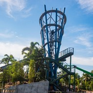 Construction on SeaWorld's Infinity Falls is finally wrapping up, could open any day