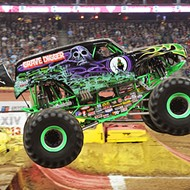 Witness an unholy alliance of monster trucks, ATVs and speedbuggies at Monster Jam Triple Threat