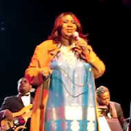 Watch these clips of Aretha Franklin performing at Universal Orlando
