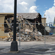 Here's what's left of Colonial Lanes