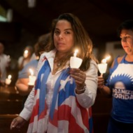 Puerto Rican community remembers Hurricane María victims at Orlando vigil