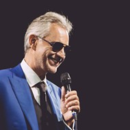Andrea Bocelli to play Valentine's Day in Orlando next year