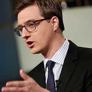MSNBC's Chris Hayes will film his show tonight at Hooch in downtown Orlando