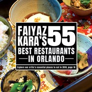 Faiyaz Kara's 55 best restaurants in Orlando
