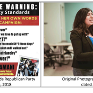 The Republican Party of Florida is being sued for ripping off a photo used in an Anna Eskamani attack ad
