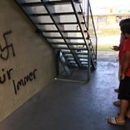 Swastikas spray-painted on buildings near UCF