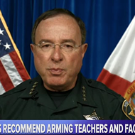 Florida sheriffs Bob Gualtieri and Grady Judd promoted arming teachers on NRA TV