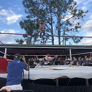 Wrestling returns to the Will's Pub parking lot at Mayhem on Mills III