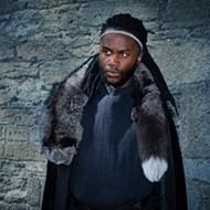 Junior Nyong'o plays the titular prince in Orlando Shakes' 'Hamlet'