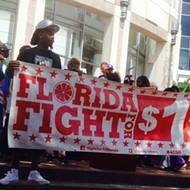 Rally in Orlando celebrates New York's $15 minimum wage victory