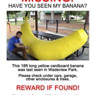 Local artist SKIP asks: Have you seen my banana?