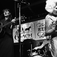 Rockabilly queen Kim Lenz ignites dance party with Little Sheba & the Shamans and the Drunken Cuddle (Will's Pub)