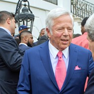 New England Patriots owner charged with soliciting prostitution at Florida spa