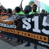 Fight for $15 protest took over downtown Orlando