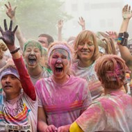 The Color Run goes tropical for a good cause on Saturday
