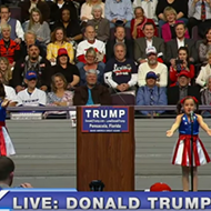 Trump recruits Pensacola's Freedom Girls for creepiest rally ever
