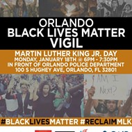 Today at 6 p.m.: Black Lives Matter vigil in honor of MLK Day