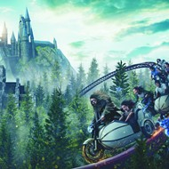 Universal Orlando reveals new details about 'Hagrid's Magical Creatures Motorbike Adventure' coaster