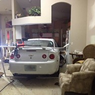 This Florida home has had two different cars crash into it over the last two months