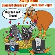 Photography buffs: Kiwi Camera is holding a swap meet on Sunday, Feb. 21