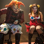 The actors behind Halloween Horror Nights' Jack the Clown and Chance step out from behind the makeup at EDF 2016