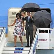 President Obama arrives in Cuba for historic visit