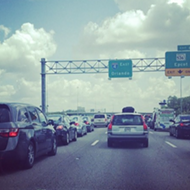 Local authorities are now ticketing people for aggressive driving on I-4, for once