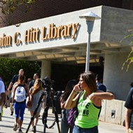 UCF police find no threat after social media reports of gunwoman in library