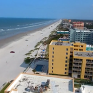 This drone footage of New Smyrna Beach is mildly interesting