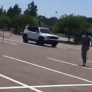 A Florida woman filmed herself chasing a pervert out of Target