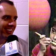 Watch new Magic coach Frank Vogel do 'Stupid Human Tricks' on Letterman back in 1986
