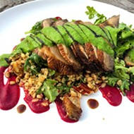 Get a taste of gourmet veg from Dixie Dharma paired with wine from Quantum Leap