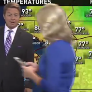 A Florida news anchor walked through a live newscast searching for Pokémon