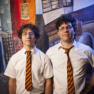 Harry and the Potters cast a wizard rock spell on the downtown library this week