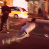There was a massive street fight in downtown Orlando last night
