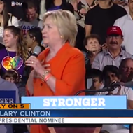 Father of Pulse shooter attends Hillary Clinton rally in Kissimmee