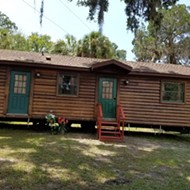 You can now purchase the log cabins from Disney's Fort Wilderness Campground for $20,000