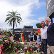 Bill Clinton visits site of Pulse nightclub shooting