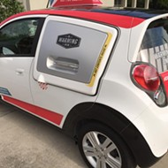 A local Dominos will be the first in Florida to own one of those sweet pizza cars