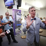 OSIRIS-REx launch at NASA hosts Bill Nye, science guy