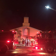Man charged with arson after fire at Florida mosque attended by Pulse gunman