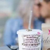 This Orlando couple loves Chipotle so much they shot their engagement photos there