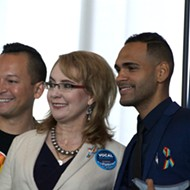 Giffords tells Orlando to 'never stop fighting' for gun reform