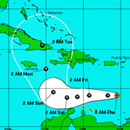 Tropical Storm Matthew is likely to strengthen into a hurricane and could affect Florida