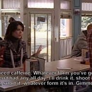 Attention, Gilmore Girls fans: Two Orlando coffee shops have been transformed into Luke's Diner today