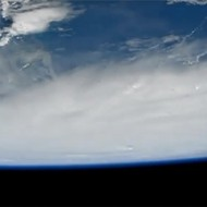 This video of Hurricane Matthew from space is eerily beautiful