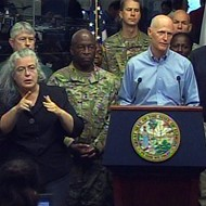 Rick Scott: Don't get complacent; worst of Matthew 'still to come'