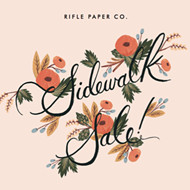 Start your holiday shopping at Rifle Paper Co.'s sidewalk sale Friday and Saturday, Oct. 21-22