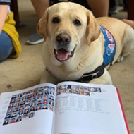 Marjory Stoneman Douglas High School's Florida therapy dogs get their own yearbook page